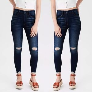 American Eagle Next Level Deconstructed Jeggings